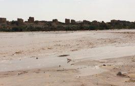 تفاصيل الأمطار والسيول  في محافظة شبوة