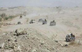 القوات الحكومية تواصل تقدمها الميداني في عمق مديرية ماوية شرق محافظة تعز