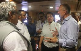 لوليسغاورد يستانف اجتماعات لجنة اعادة الانتشار في عرض البحر