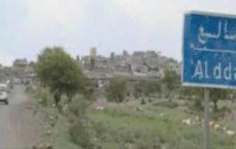 محاولة تسلل لمليشيات الحوثي الإنقلابية في حجر