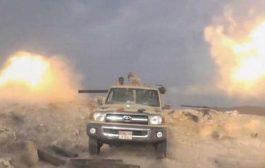 قوات اللواء 35 مدرع تتصدى لهجوم مليشيات الحوثي جنوب شرق تعز