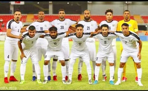 الشوط الاول ينتهي بتقدم المنتخب اليمني امام السعودية بهدفين