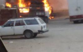 حضرموت : إنفجار عنيف هز صباح اليوم مدينة شبام التاريخية