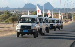 مأرب: مسلحون ينهبون 10 سيارات للبعثة الدولية للصليب الأحمر