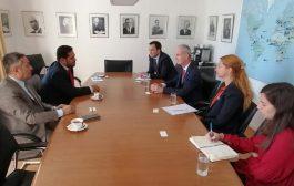وزير حقوق الإنسان يلتقي نائب رئيس اللجنة الدولية للصليب الأحمر