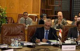 القائم باعمال وزارة المياه يرأس وفد اليمن في أعمال الدورة الـ 31 لمجلس وزراء العرب للبيئة