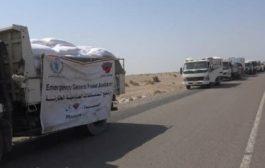 السماح بدخول قافلة مساعدات أممية إلى الدريهمي بالحديدة
