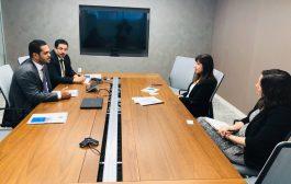 وزير حقوق الإنسان يلتقي مديرة منظمة هيومان رايتس ووتش في واشنطن