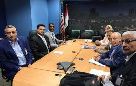 وزير الثقافة يبحث مع مسؤولين في الخارجية الأمريكية طلب منع إستيراد وبيع الأثار اليمنية