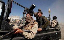 مصرع وجرح 9 حوثيين بمدفعية الجيش في جبهة مريس