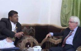 توتر لقاءات المبعوث الأممي مع الحوثيين بسبب التصعيد الميداني
