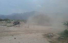 مواجهات عنيفة بين المقاومة الجنوبية وميليشيا الحوثي في ثرة