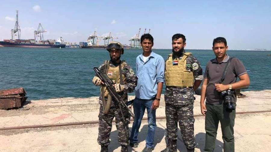 بعد اشتباكات محدودة قوات حماية المنشأت تتسلم مهام حماية ميناء الإصطياد بعدن