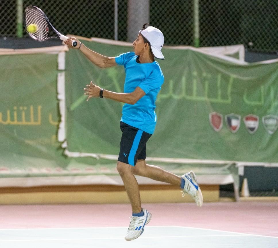 لاعبو اليمن إلى الدور الثاني للبطولة الأسيوية للتنس