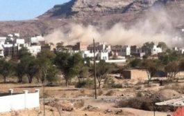 """مقتل """"رجل وابنته"""" نتيجة قصف حوثي على قرى في الضالع"""