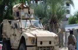 نجاة قائد عسكري بارز من انفجار عبوة ناسفة في أبين
