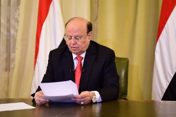 الرئيس هادي .. السلام هو الخيار الاستراتيجي للحكومة الشرعية