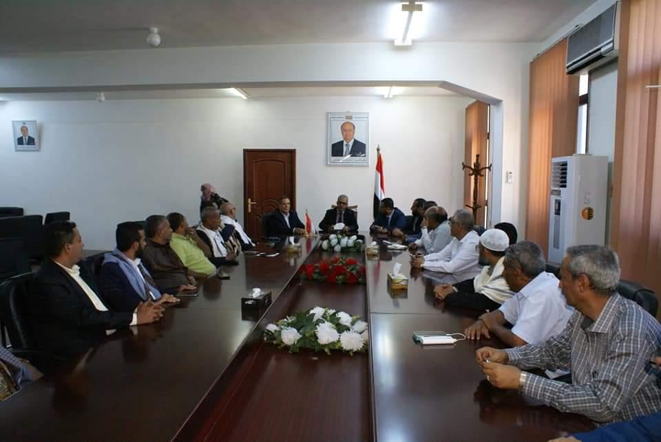 اشهار  التحالف الوطني في محافظة تعز