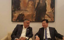 وزير الثقافة اليمني يبحث مع نظيره الصيني سبل تطوير العلاقات بين البلدين