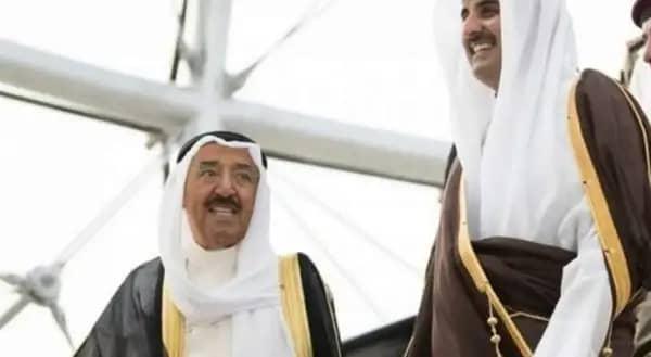 أمير قطر يعرب عن سعادته بالمصالحة الخليجية
