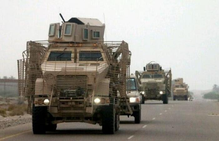 قوات عسكرية كبيرة تصل الى جنوب اليمن