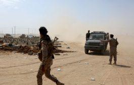 مدفعية الجيش اليمني تستهدف مواقع مستحدثه للانقلابيين بالجوف