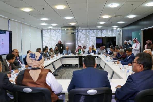 التحالف الوطني لدعم الشرعية  يلتقي بالبرنامج السعودي لإعمار اليمن