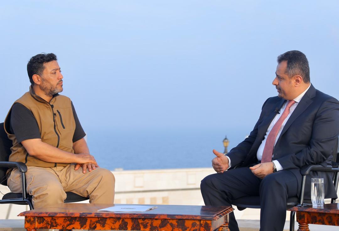 معين عبدالملك: الحكومة منذ عودتها إلى عدن حققت كثير من النتائج الايجابية