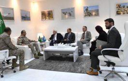 قائد القوات المشتركة للتحالف يلتقي المبعوث الأممي إلى اليمن