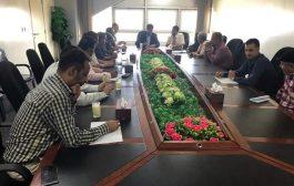 نائب وزير النقل يشدد على اهمية الاجراءات الامنية في  مطار عدن الدولي