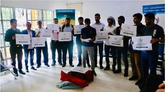 اعتصام مفتوح لطلاب اليمن في ماليزيا