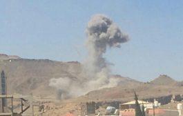 قصف عنيف على صنعاء و سماع دوي انفجارات عنيفة