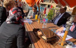 نائب الأمين العام للحزب الإشتراكي اليمني يلتقي بسفير الإتحاد الأوروبي لدى اليمن
