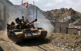 الجيش الوطني  يصد هجوم حوثي شرق وغرب تعز