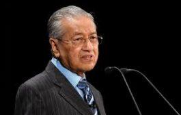 رئيس وزراء ماليزيا مهاتير محمد يقدم استقالته