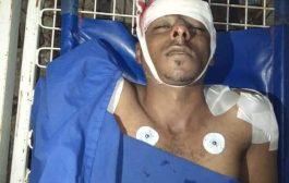استشهاد وإصابة أربعة من أسرة نازحة بقصف حوثي بتعز