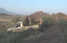 القوات الحكومية والمقاومة الجنوبية تشن هجوم على المليشيات شرق بالضالع