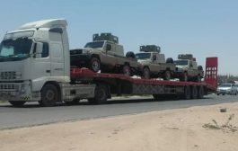 وصول عتاد عسكري سعودي إلى أبين