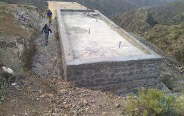 خزان مياه الدريح من افضل الخزانات التي نفذتها كير بمحافظة لحج