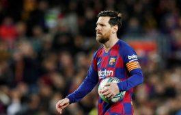 برشلونة يعلن إصابة ليونيل ميسي