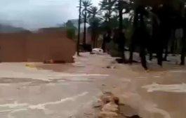 """الامطار تتسبب بوفاة  9 مواطنين  بحضرموت """" فيديو"""""""