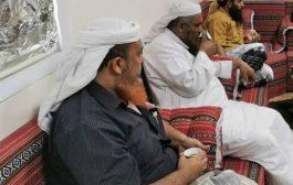 أفراد وضباط وقادة ألوية العمالقة يوقعون لاختيار  القائد علي سالم الحسني