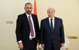 هادي سيلتقي الزبيدي ومؤشرات ايجابية لتنفيذ اتفاق الرياض