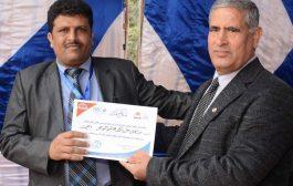 الباحث اليمني عبدالغني النويهي يفوز بجائزة احسن رسالة دكتوراة للعام 2020 في مصر