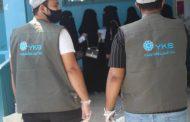 بنك اليمن والكويت ينفذ حملة توزيع كمامات طبية لطلاب جامعة حضرموت