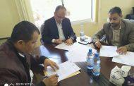 مالية تعز توقع عقدًا مع شركات مصرفية لصرف رواتب موظفي الدولة في المحافظة