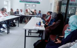 جلسة مساءلة حول الثكنات العسكرية في مدارس تعز