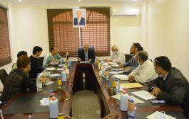 وزير المياه يناقش مع إوكسفام كيفية أعادة تأهيل مشروع مجاري عدن