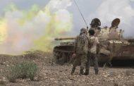 مصرع مقاتلين حوثيين في قصف مكثف شمال الضالع