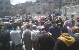 تشييع مهيب لفقيد العطاء الانساني عبدالله عبدالغني المخلافي
